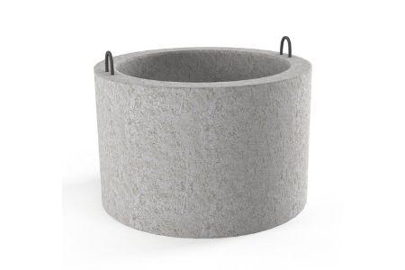 как правильно сделать бетонное кольцо фото