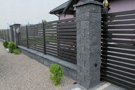 бетон для заливки столбов забора пропорции фото