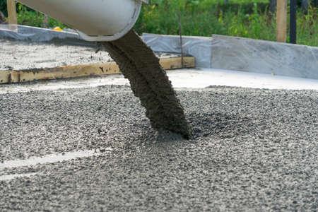 пропорции бетона для фундамента фото